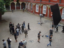 Shooting of LESSONS OF A DREAM in Wolfenbüttel