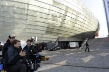 Shooting of NO MORE MR. ICE GUY in Bremerhaven