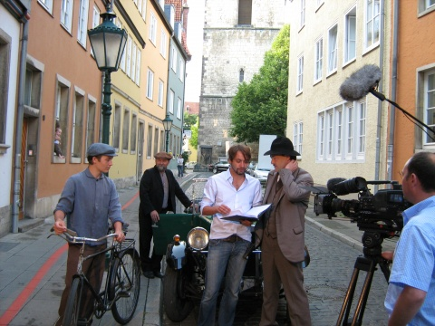 Shooting of PUPPET BOYS in Hanover